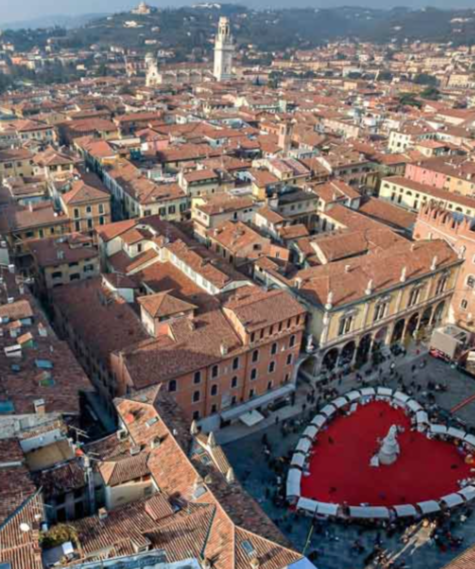 Valentine's heart in Verona