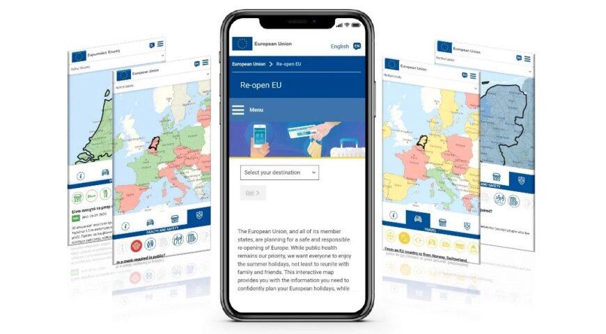 Reopen EU app